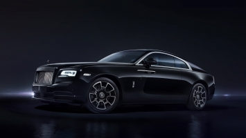 Rolls Royce Wraith Black Badge Geneva 2016