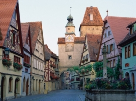 Rothenburg ob der Tauber Wallpaper Germany World