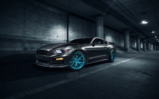ROUSH Performance Mustang Vossen Wheels
