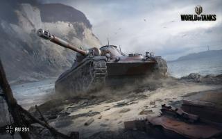 RU 251 World of Tanks