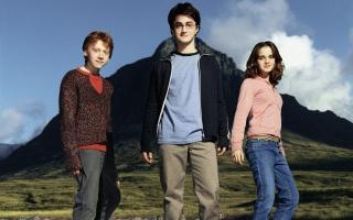 Rupert Grint Daniel Radcliffe Emma Watson