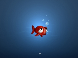 Sad Fish Wallpaper 3D Characters 3D
