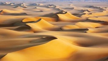 Sand Dunes Sunrise White Desert Egypt