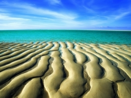 Sand Ripples Wallpaper Beaches Nature