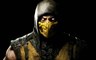 Scorpion in Mortal Kombat X