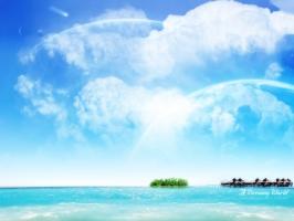 Sea Water Dreamy World