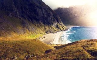 Seashore Coast Mountains