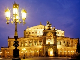 Semper Opera Wallpaper Germany World