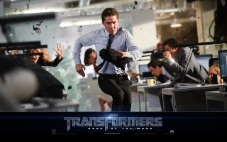 Shia LaBeouf in Transformers 3