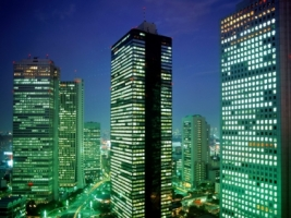 Shinjuku District Wallpaper Japan World