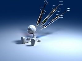 Sick Robot Wallpaper 3D Characters 3D
