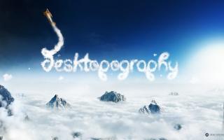 Sky Desktopography