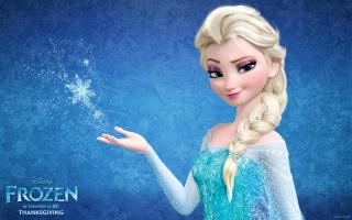 Snow Queen Elsa in Frozen
