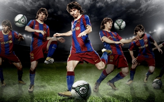 Soccer player Lionel Messi 4K