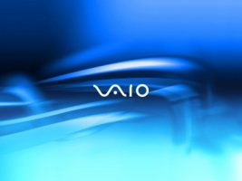 SONY Vaio Blue Light Wallpaper Sony Vaio Computers