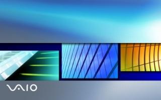 SONY Vaio Slide Scene Wallpaper Sony Vaio Computers