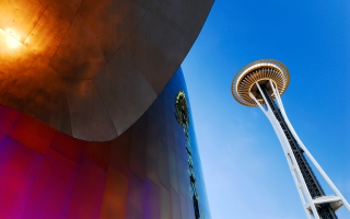 Space Needle Tower Seattle