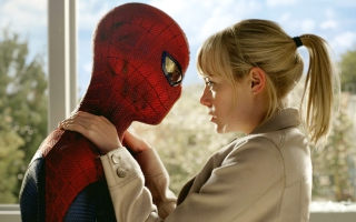 Spider Man and Gwen Stacy