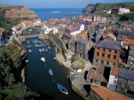 Staithes Wallpaper England World