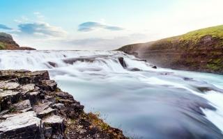 Steam Thingvellir National Park Iceland