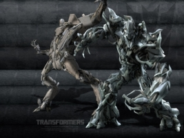 Strarscream Megatron Decepticons Wallpaper Transformers Movies