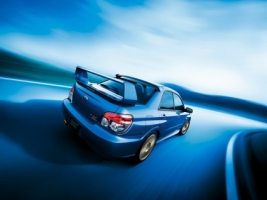 Subaru Impreza WRX STI Speed Road Wallpaper Subaru Cars