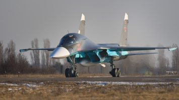Sukhoi Su 34 Russian Fighter