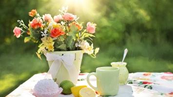 Summer Flowers Pot
