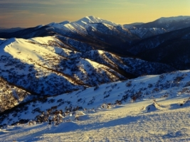Sunrise on Mount Feathertop Wallpaper Australia World