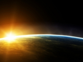 Sunrise Wallpaper Space Nature