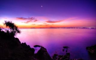 Sunset Moonrise