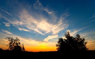 Sunset on Widescreen