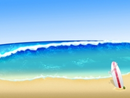 Surf Wallpaper Abstract 3D