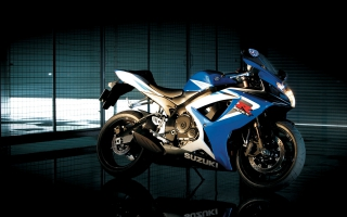 Suzuki GSX R750 Bike