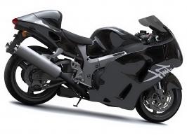 Suzuki Hayabusa Pure Black