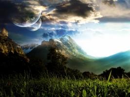 Swedish Skies Wallpaper Photo Manipulated Nature