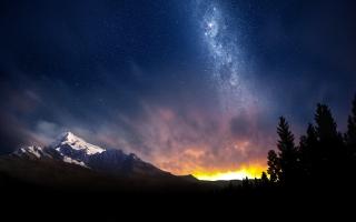 Swiss Night Sky