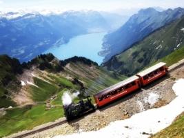 Switzerland train Wallpaper Switzerland World