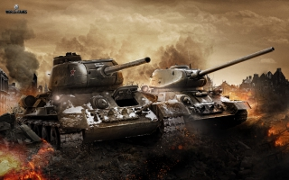T 34 & T 34 85 in World of Tanks