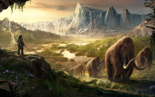 Takkar Mammoths Far Cry Primal