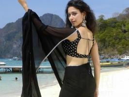 Tamanna Black Saree