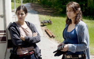 Tara Chambler Maggie Walking Dead Season 6
