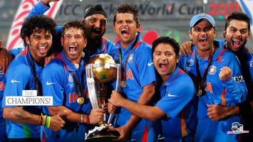 Team India 2011 World Cup