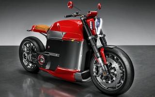 Tesla Model M Concept Electric Motorcycle