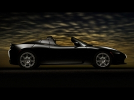 Tesla Roadster Black Wallpaper Tesla Cars