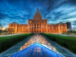 Texas State Capitol Wallpaper United States World