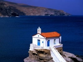 Thalassini Church Wallpaper Greece World