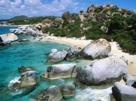 The Baths Wallpaper Beaches Nature