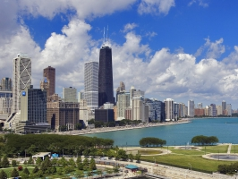 The Gold Coast of Chicago Illinois