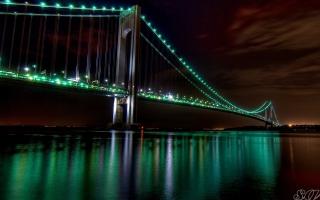 The Golden Gate Bridge Night View